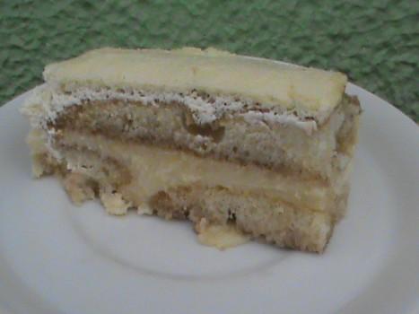 Torta Creme de Biscoito Champagne