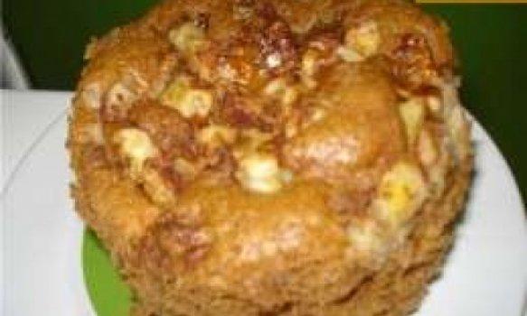 Torta preguiçosa de banana na caneca