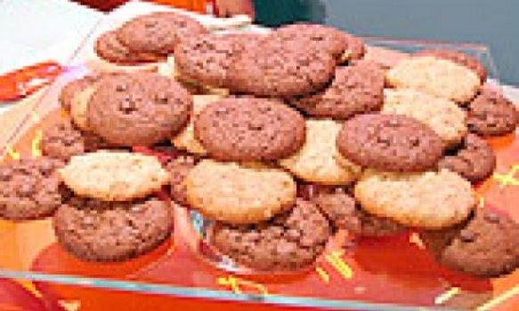 Cookies de Chocolate em Pó