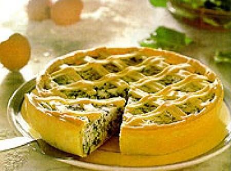 Torta de Queijo e Cogumelos | Luciana Mendonça