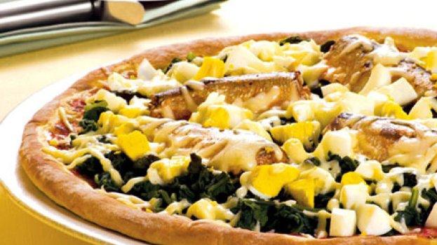 Pizza de Sardinha