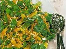 Salada de agrião com damasco   Luiz Lapetina
