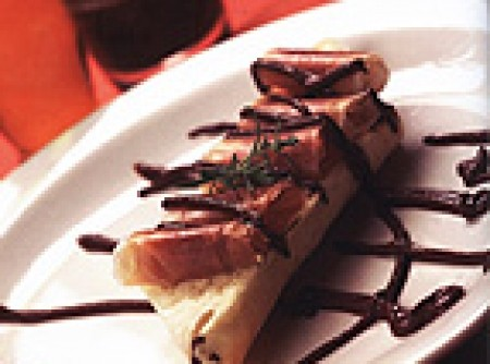 Molho de Chocolate com Pimenta