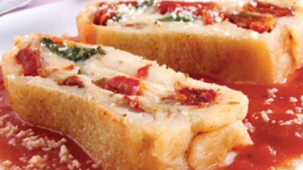 Rondelli de Batata com Tomate Seco