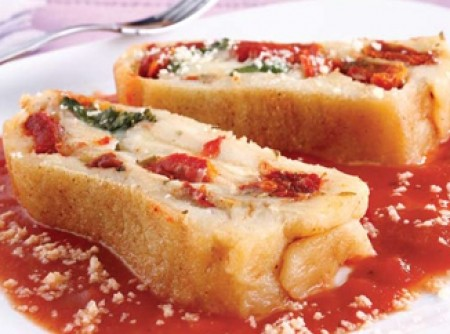 Rondelli de batata com tomate seco | CyberCook