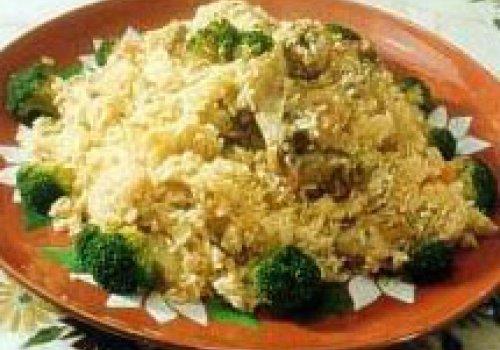 Arroz com Brócolis e Batatas