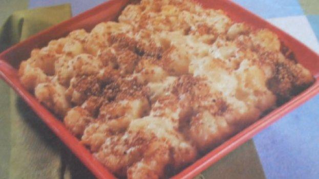 Couve-Flor com queijo
