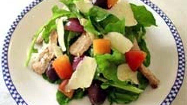Salada Quente Mediterrânea