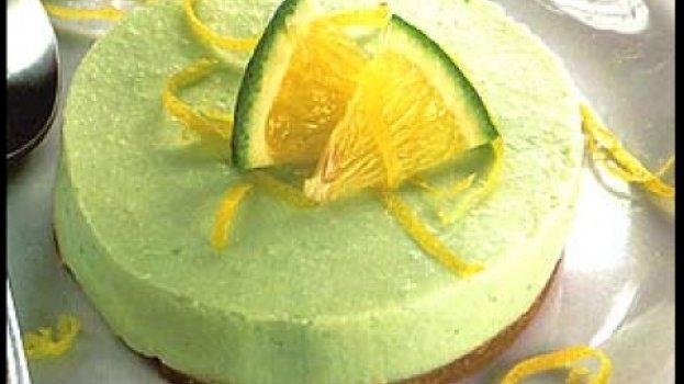 Torta Mousse de Limão Diet