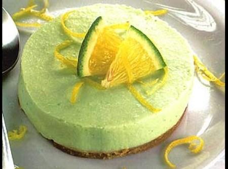 Torta mousse de limão diet   CyberCook