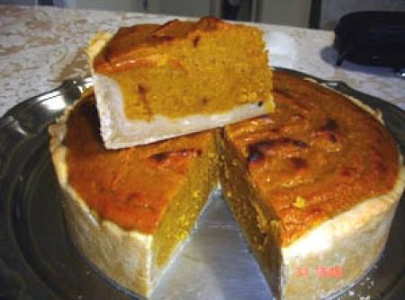 Torta de abóbora pumpinking piet