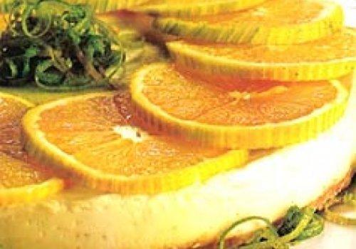 Cheesecake de laranja