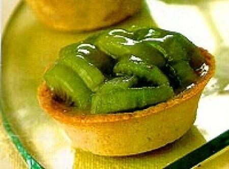Tortinha light de kiwi
