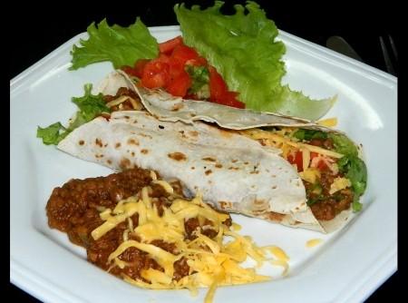 Burritos de Chilli e Rap10