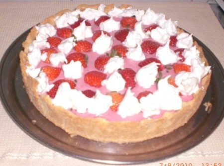 Torta de morangos delicia   Roberta Lorencatto Goncalves