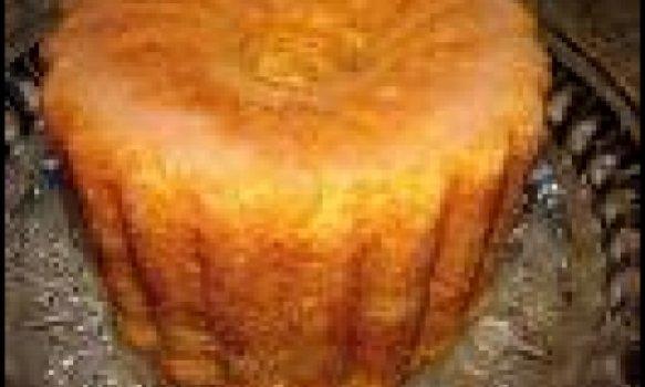 Bolinho de laranja