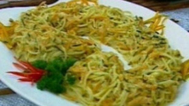 Esparguete com abóbora