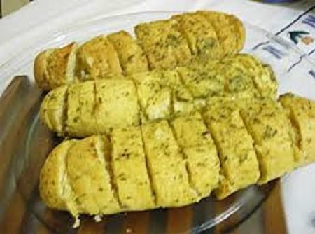 Pão de Alho - Caseiro de Delicioso