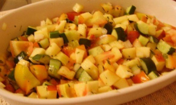 Salada Refrescante de Verão
