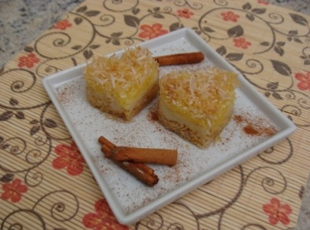 Torta de coco crocante da Abima | Red Rose