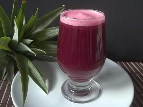 Bebida de Beterraba e Abacaxi