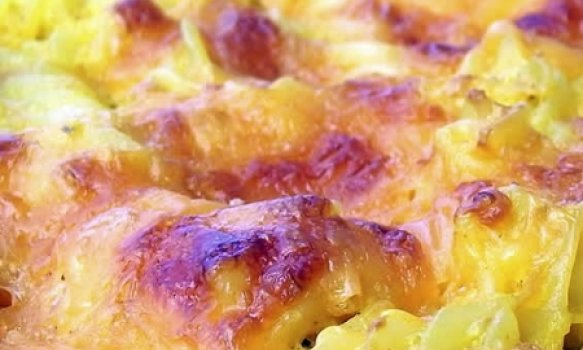 Macarrao com queijo (receita Norte-Americana)