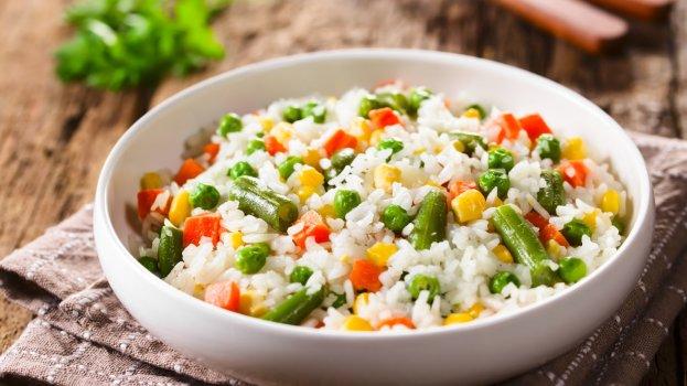 Risoto com seleta de legumes/CyberCook
