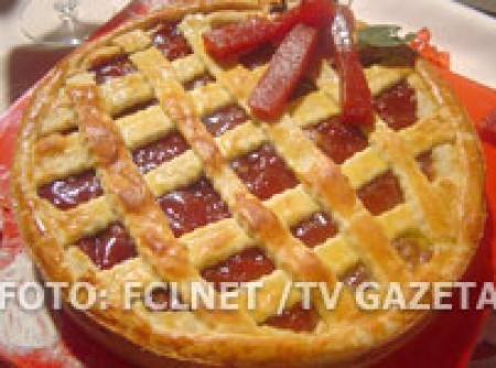 Torta Xadrez de Goiabada