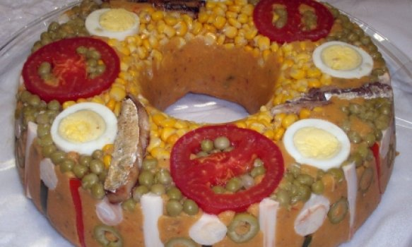 Cuscuz Paulista com Seleta de Legumes
