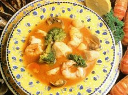 Sopa de pescados