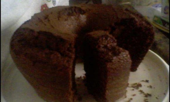 Bolo de chocolate Fofíssimo da Mayra