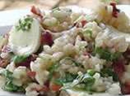 Risoto de Tomates Secos, Mozarela de Búfala e Rúcula | solange