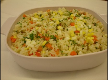 arroz á valenciana | Débora Pimenta