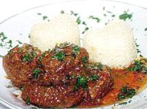 Carne de Panela ao Molho de Maracujá