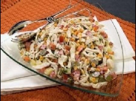 Salada de Frango | ELIANE CARVALHO DE SOUZA