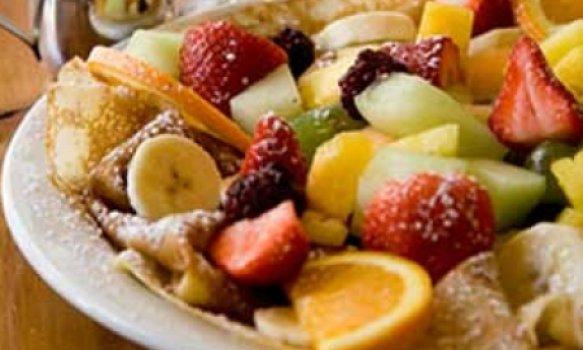 Salada de frutas perfumadas