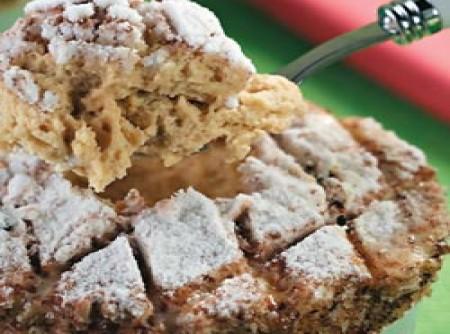 Suflê gelado de café com castanha-do-pará