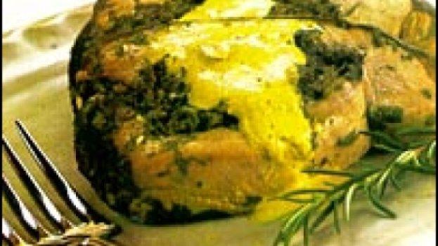 Atum com Ervas e Molho de Curry