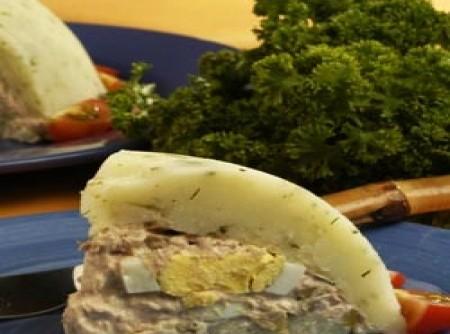 Enformado de batata com atum