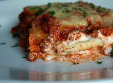 Lasanha Bolonhesa 5 queijos Fabio Wasser Gonçales   Edylamar Suely Dessoti