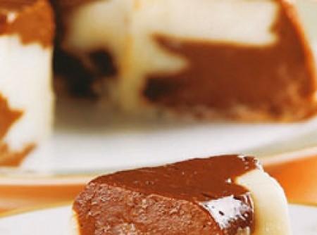 Manjar de coco e chocolate light | ginah wanderley