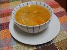 Sopa de Frango e Legumes com Risone