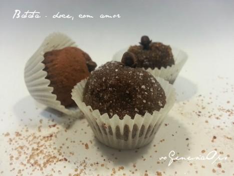 Docinhos de Batata Doce com Chocolate