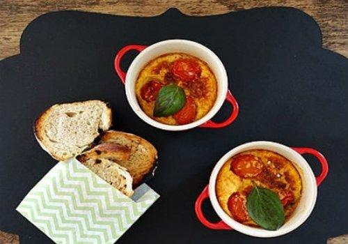 Clafoutis de Tomate-Cereja