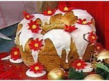 Rosca de Coco Natalina