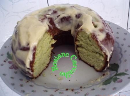 Bolo verde de limão da Letícia