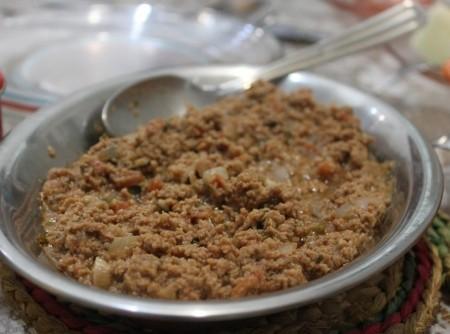 Carne Moída Fácil de Microondas