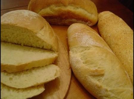 Pão feito de isca