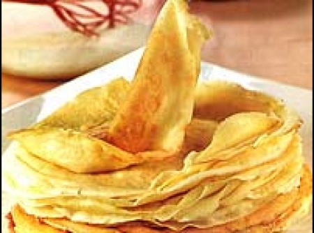 Receita básica de crepe | Luigia Maria Giovanna Chiappa