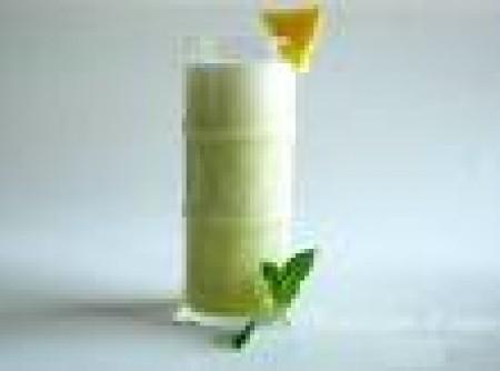 Suco de Iogurte de Abacaxi e hortelã